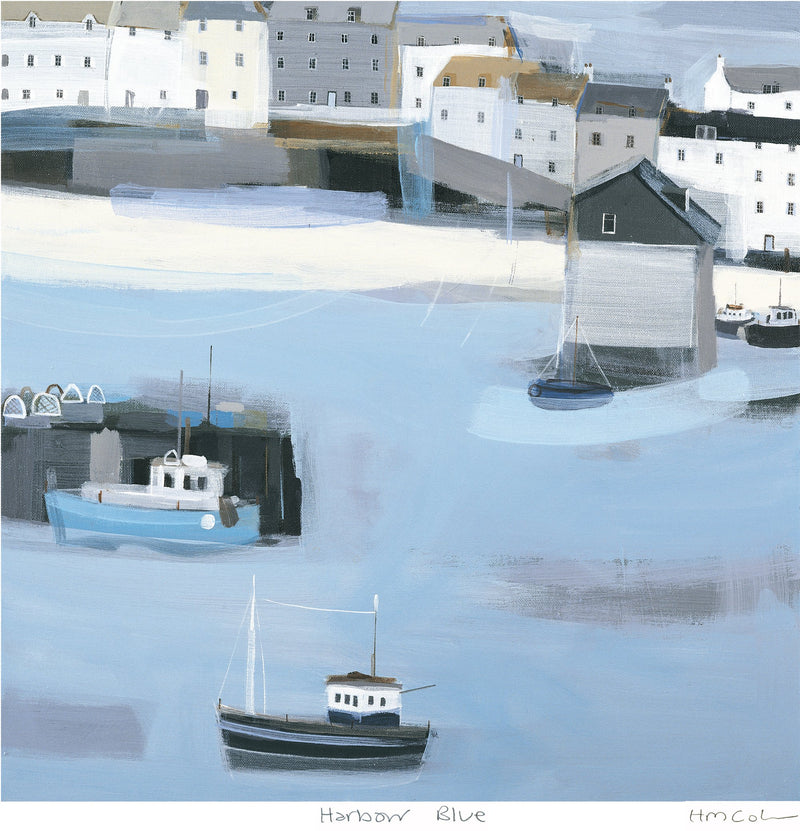 Harbour Blue 1 Print