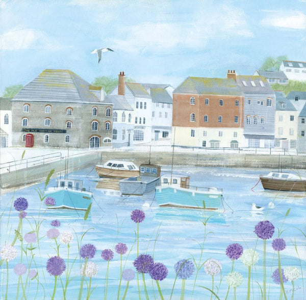 Padstow Flowers Art Print Large