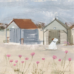 The Old Beach Huts Print