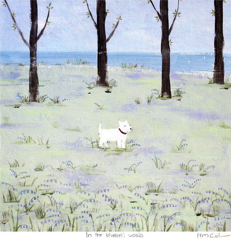 In The Bluebell Woods 1 Print