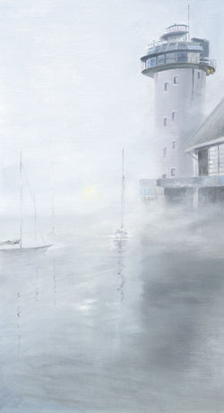 Morning Mist Falmouth Print