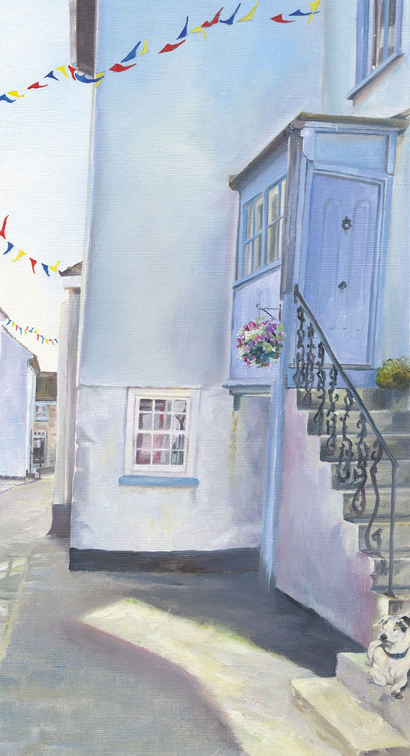 St Ives Side Street Print