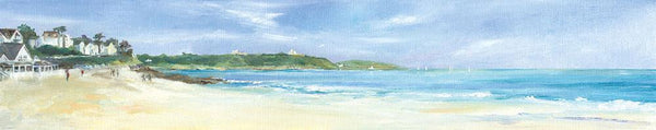 Gyllyngvase Towards Pendennis Print
