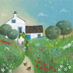 Summer Cottage Print