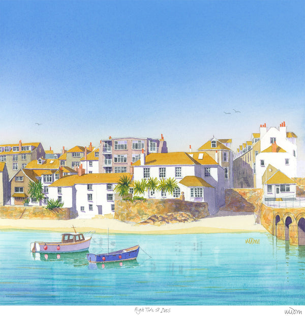 High Tide St Ives Print