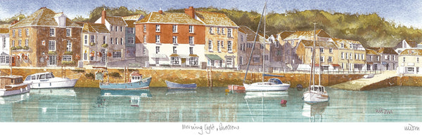 Morning Light Padstow Print