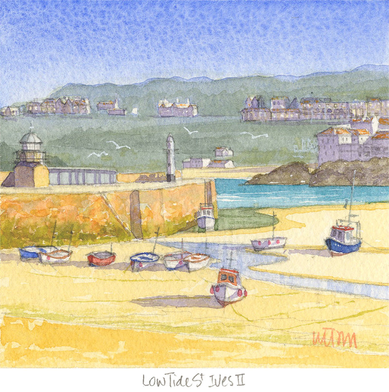 Lowtide St Ives 2 Print