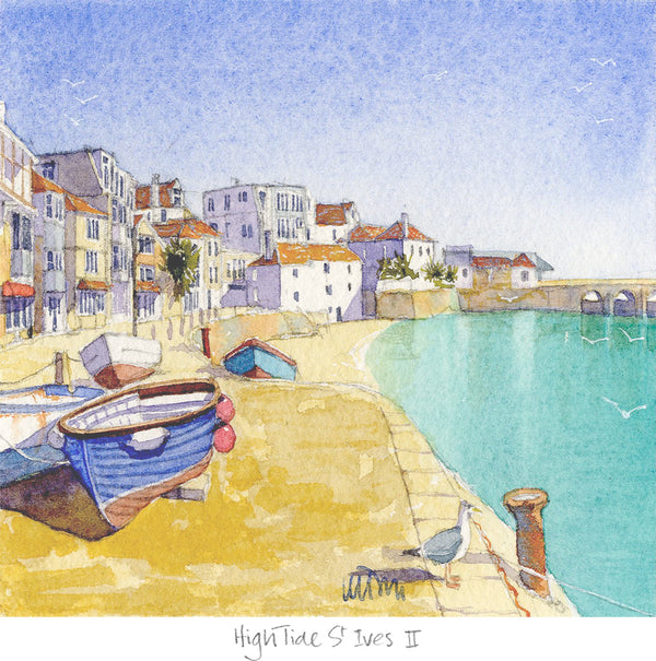High Tide St Ives 2 Print