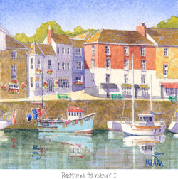 Padstow Harbour 1 Print