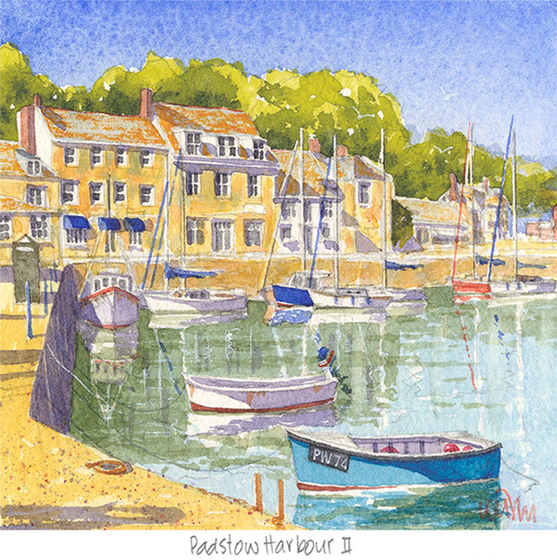 Padstow Harbour 2 Print