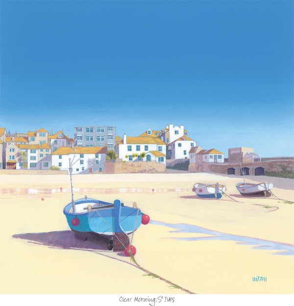Clear Morning St Ives Print