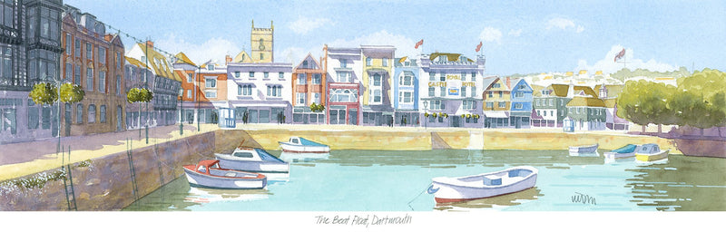 The Boat Float Dartmouth 1 Print