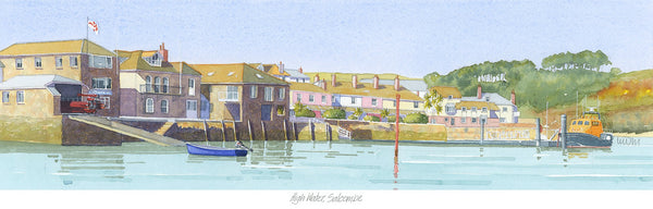 High Water Salcombe Print