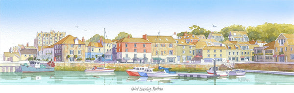 Quiet Evening Padstow Print