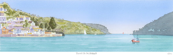 Towards the Sea Dartmouth Print