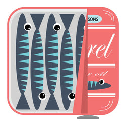 Can Of Mackerel Art Print