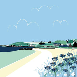 Falmouth Blues Large Art Print