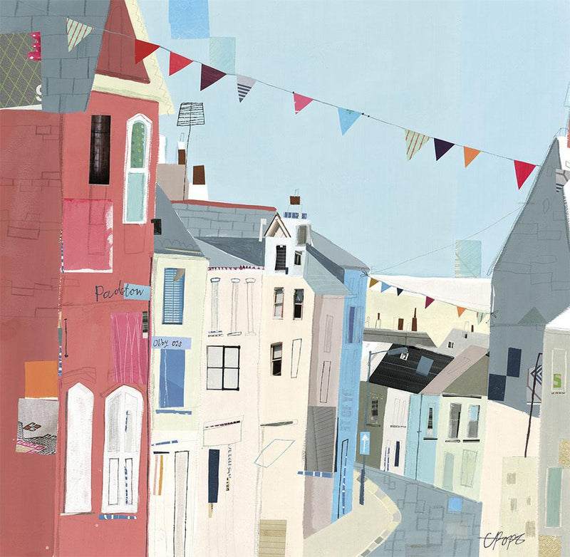 Padstow Obby Oss Print