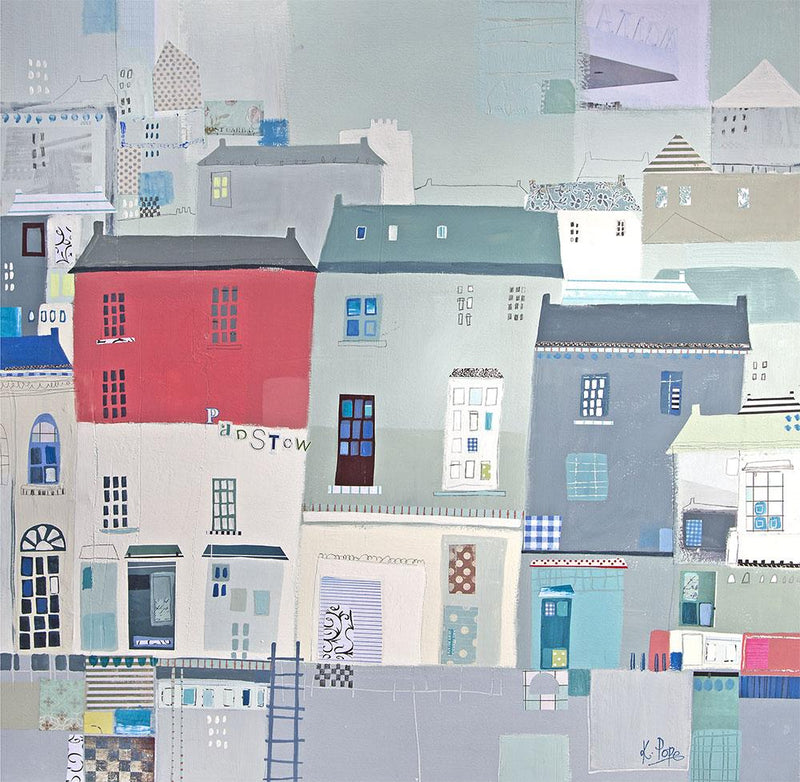 Sunny Day Padstow Print