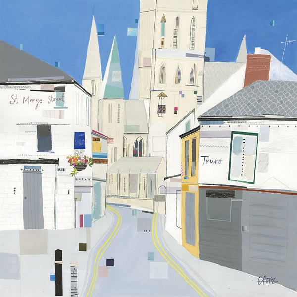 View To The Cathedral Print