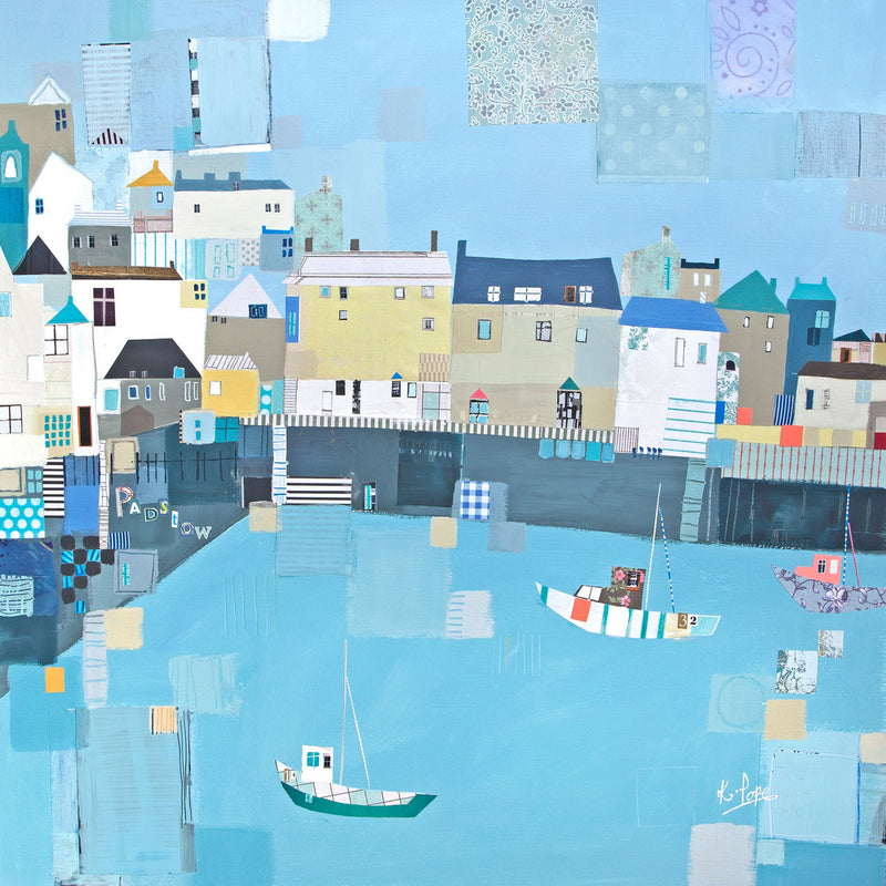 Patchwork Padstow Print