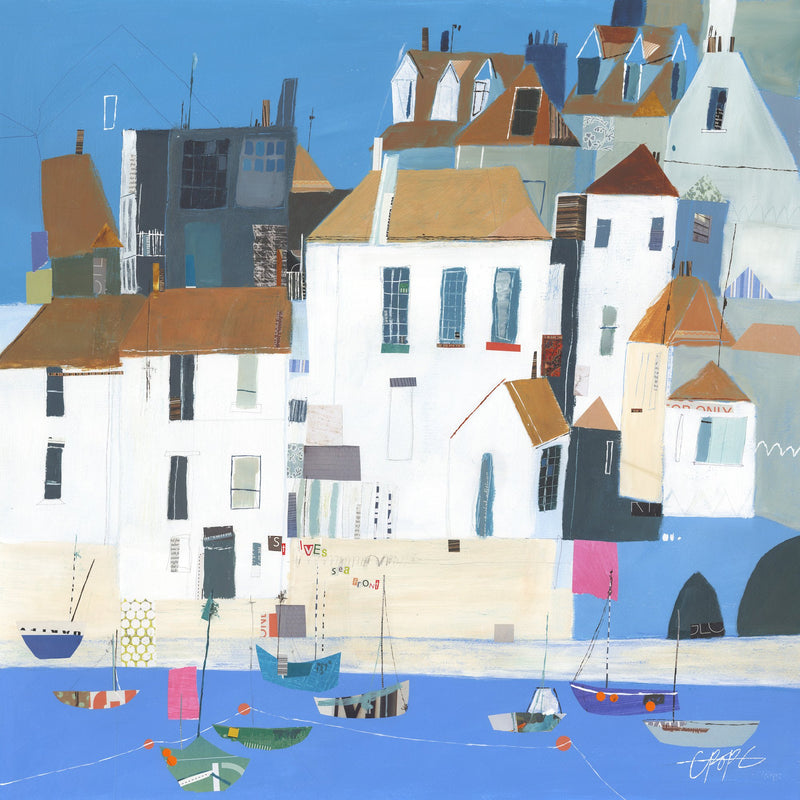 St Ives Seafront Print
