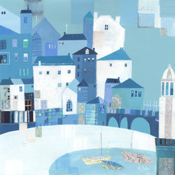 St Ives Bridge Print