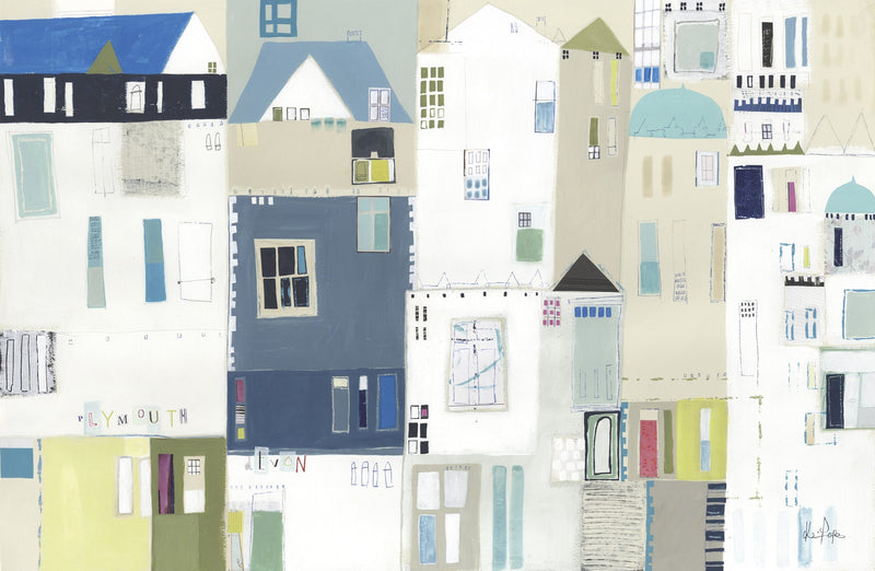 Patchwork Plymouth Print