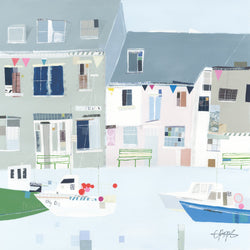Padstow Boats Print