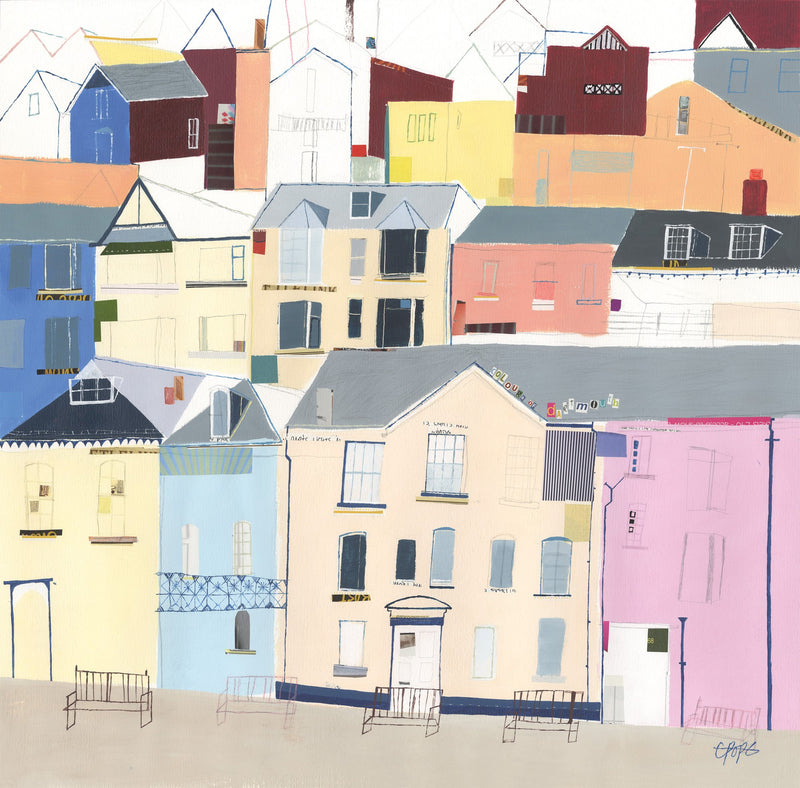 Colours of Dartmouth Print