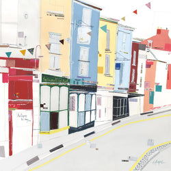 Falmouth High Street Print Large
