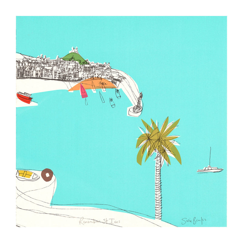 Remember St Ives Print
