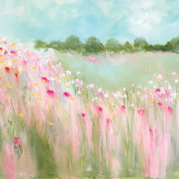 Field Of Blooms Small Floral Art Print