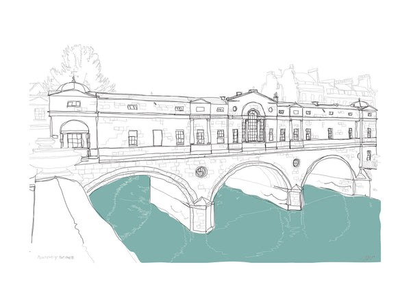 Pulteney Bridge Print