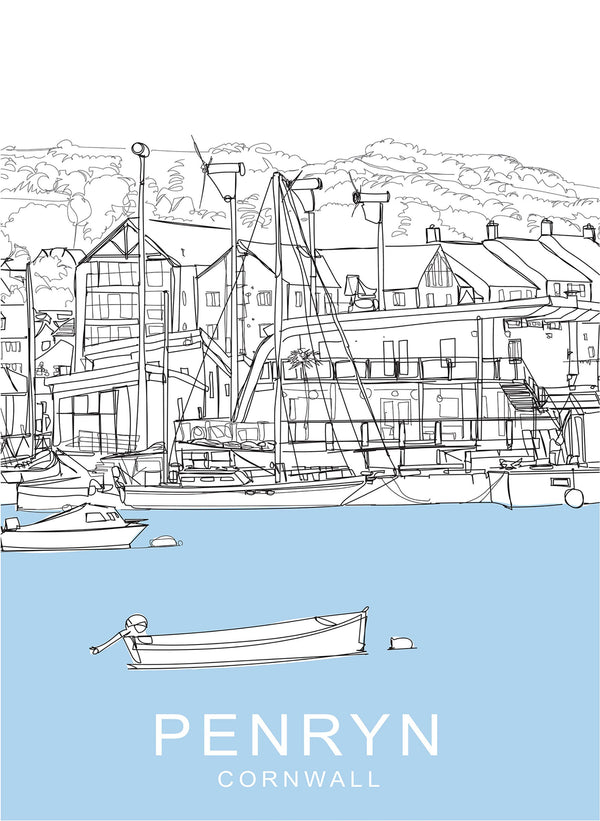 Penryn Travel Print