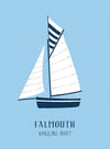 Falmouth Working Boats Art Print