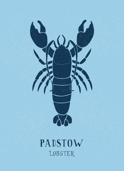 Padstow Lobster Art Print