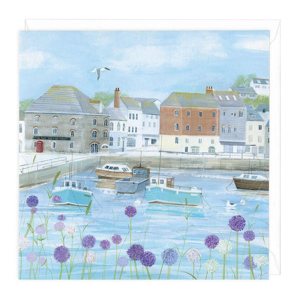Padstow Flowers Card