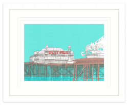West Pier Framed