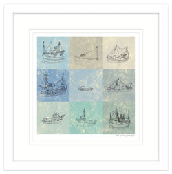 PW Fishing Framed