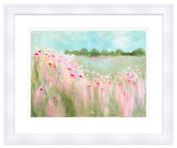 Field of Blooms Framed