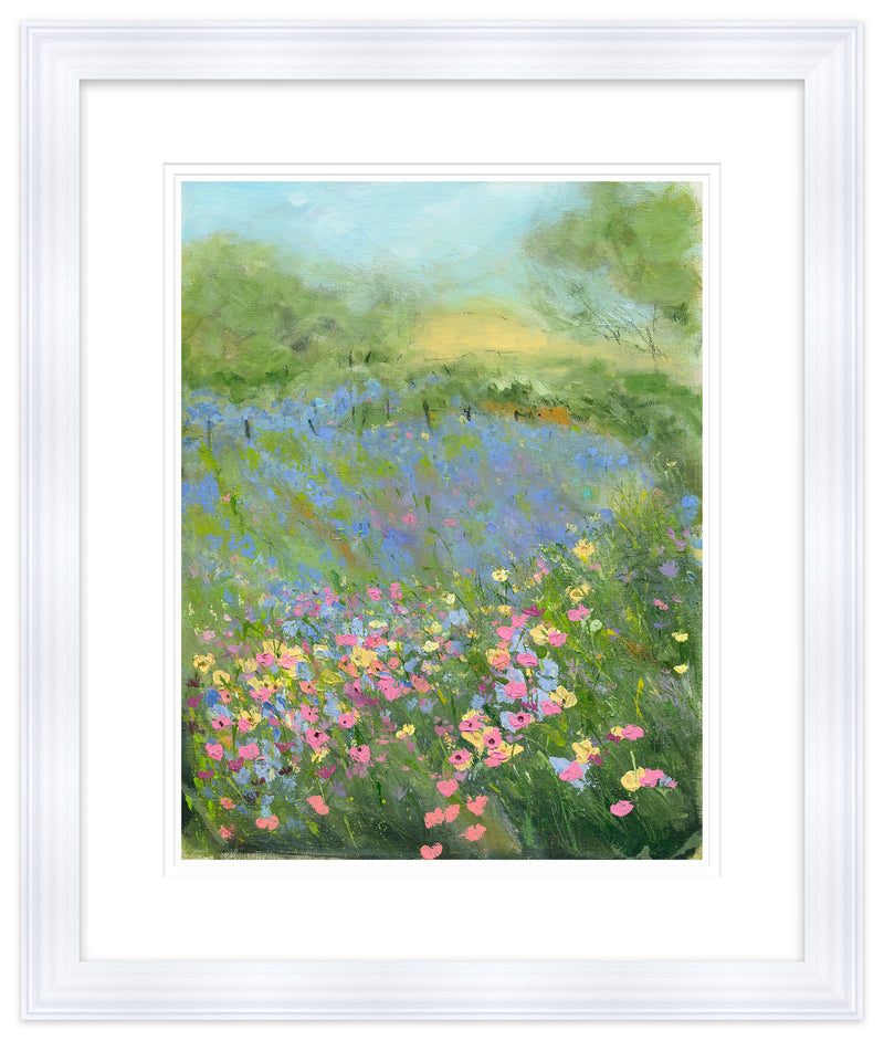 Wild Meadow Framed