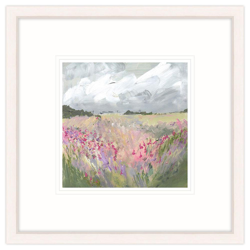 Late Summer Floral Framed Print