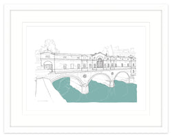 Pulteney Bridge Framed Print