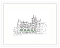 Bath Abbey Framed Print