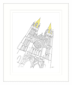 Truro Cathedral Framed