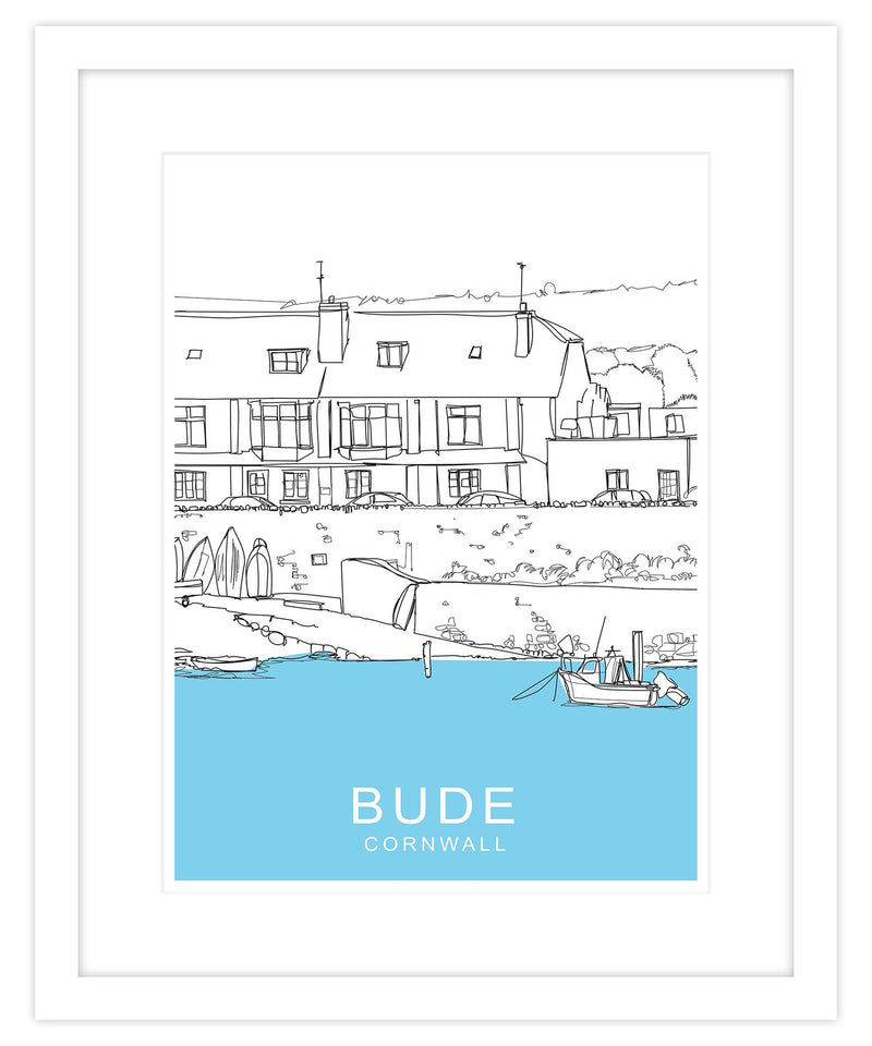 Bude Framed Travel Print