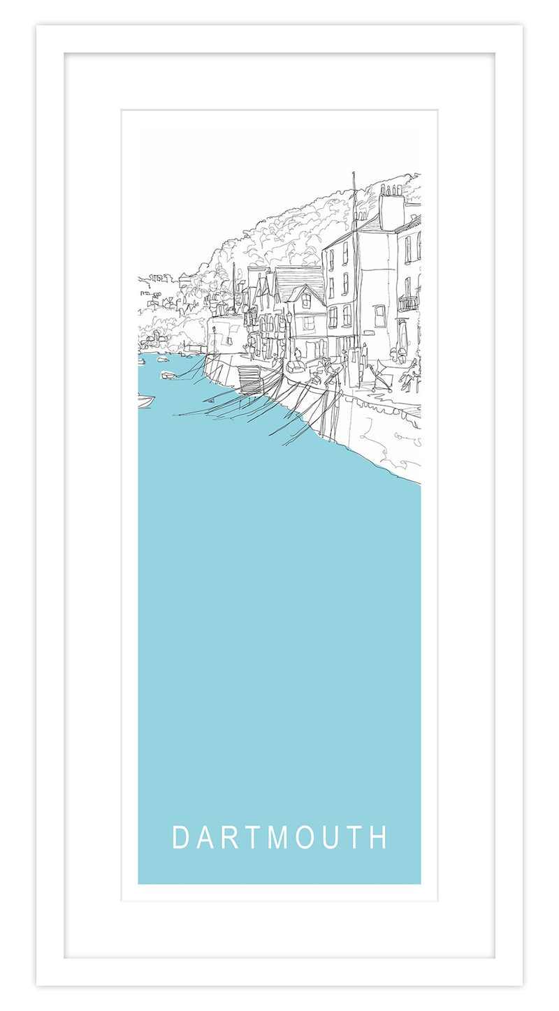 Dartmouth Long Framed Print