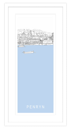 Penryn Long Framed Print