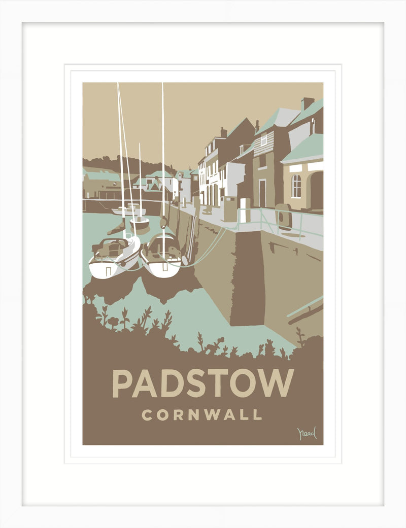 Padstow 2 Framed